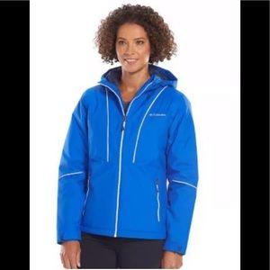 Columbia snow daze snowboard jacket blue L